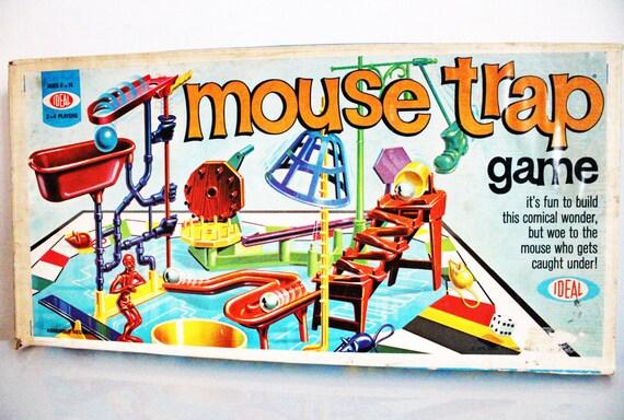 Mouse Trap: Vintage Mouse Trap Game