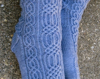 Knit Sock Pattern:  Galileo's Favorite Knitting Sock Pattern