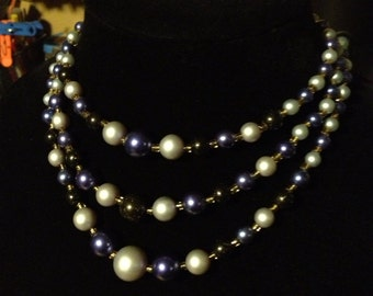 3 tiered bib necklace from Japan