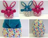 Peekaboo Bunny, Easter Bunny Plushie, Bunny Stuffed Animal