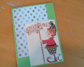 Christmas Card -- Calling All Elves!