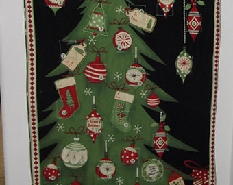 Christmas Advent Calendar - Decorated Christmas Tree
