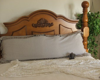 Shabby Chic Body Pillow Pillowcase : country french pillow cover body size by MyThymeCreations