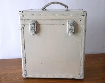 Vintage Military Trunk Shabby Chic Storage