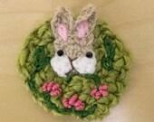 fancy stealthy friend - garden rabbit