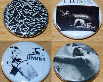 Joy Division 25mm / 1 inch Button Badge Ian Curtis