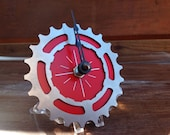 BIKE GEAR - Mini Desktop Clock: RED - 50% Off