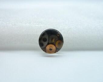 10pcs 12mm Handmade Photo Glass Cabochons(Gear)  GB9-11