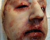 Casey - Skinned Horror Silicone Mask
