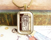 The High Priestess - Tarot Necklace