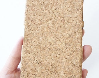 For Sony Ericsson Xperia Z2 Eco-Friednly Natural Wood Cork Mobile Phone case Cover