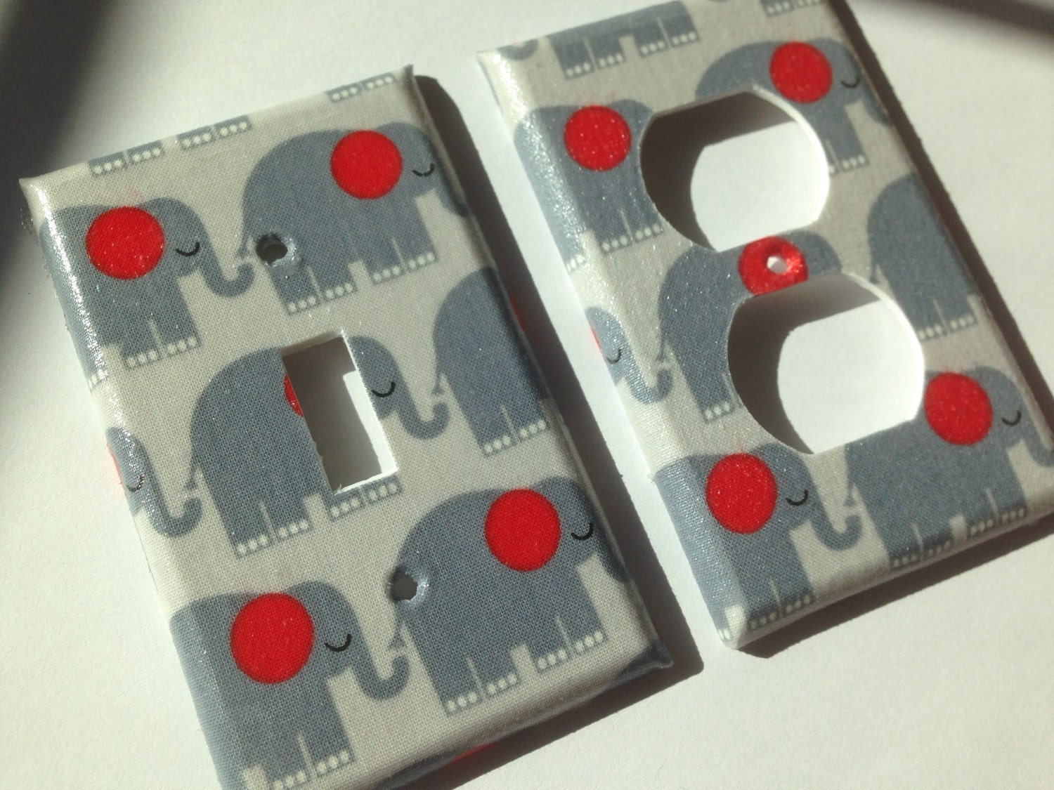 Elephant Light Switch Plate Cover Single By