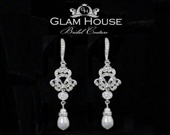Pearl bridal Jewelry, Bridesmaid pearl jewelry