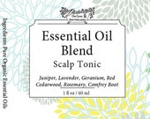 Itchy Dry Scalp Oil Blend, Dry Scalp Treatment, Special Aromatherapy Blend Scalp Hair Massage Oil