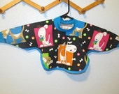 Baby & Toddler Boy's Pullover Bibs with Long Sleeves, Fits most size 6 months to 2 years- Pick your favorite