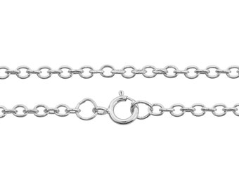"""Sterling Silver 2.5x2mm 7.5"""" Bracelet with clasp - 1pc 10% Discounted High Quality Shiny Bracelet (6591)/1"""