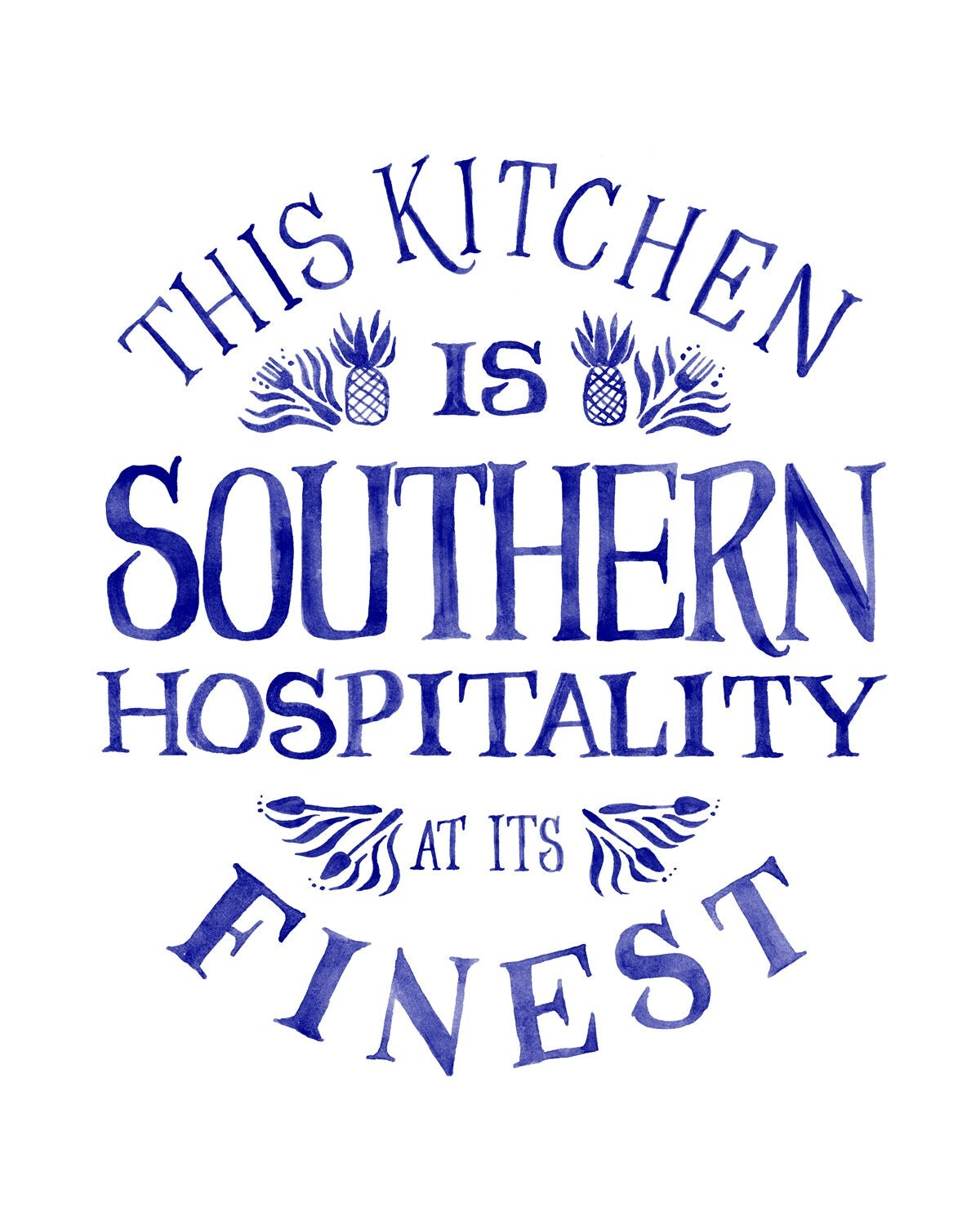 Southern Hospitality: This Kitchen Is Southern Hospitality At Its Finest Small