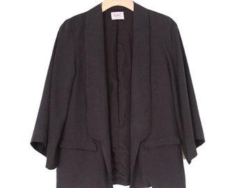 Silk Lightweight Jacket Kimono Style