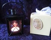 Mini Square Black Lantern table decoration  - wedding reception, centerpiece, favor