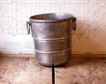 Vintage Virginia Hotel Silver Champagne Bucket by Gorham - Great New Year's Party Decor!