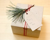 Small Kraft Paper Box - Fits 2 Bars