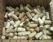 Collection of 300 Used Wine Corks