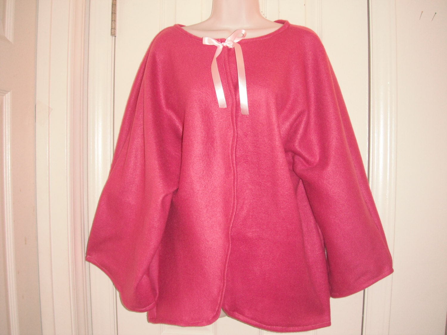 Plus Size Fleece Bed Jacket