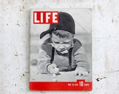 FREE SHIP Life Magazine Issue May 10, 1937, Migs Life Cover