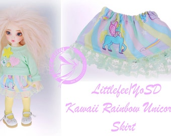 SALE Littlefee YoSD Kawaii Unicorn Skirt