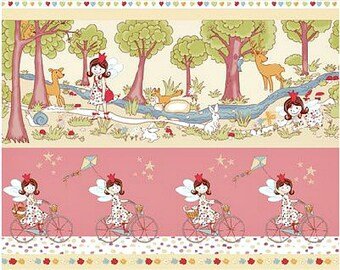 Quilt fabric for Little Girls Lizzy Fay Enjoy