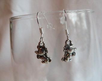 Mouse Earrings, Earrings, Mouse