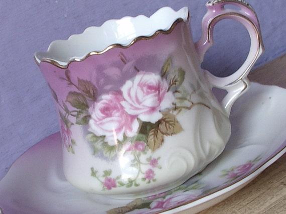 Antique Japanese Porcelain Tea Cups Painted Tea Cup Japanese
