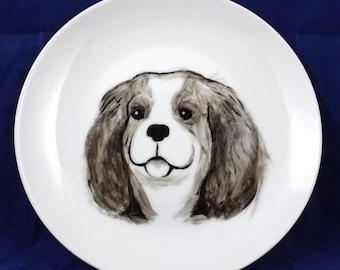 Cavalier King Charles Spaniel decorative plate