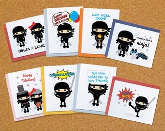 Flavorkid Ninja Card Set