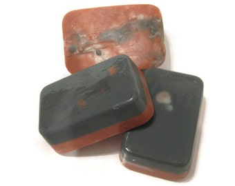 Charcoal Rose Skincare Bar, acne soap, balancing bar, clear skin soap, charcoal and rose essential oil