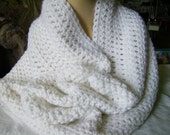 Infinity Cowl Scarf Crochet Crocheted Infinity Scarf Cowl Seamless