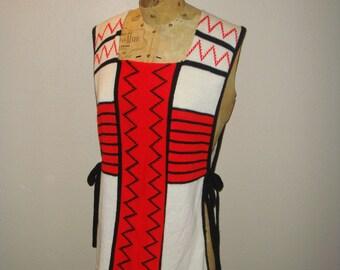 SALE - bohemian smock sweater vest