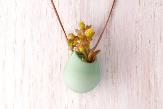 Wearable Planter No. 1, in Mint