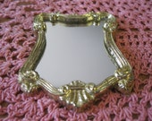 Doll House Miniature Ornate Mirror