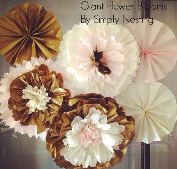 Mothers day decor giant flower blooms tissue paper pom flowers il570xn mightylinksfo