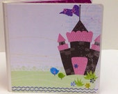 Disney princess scrapbook  premade pages chipboard scrapbook mini album  Mickey Mouse Belle vacation birthday