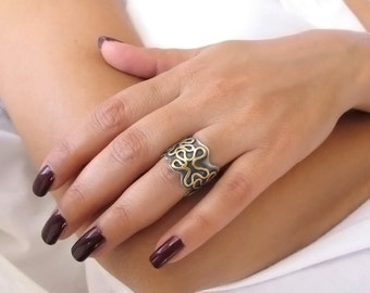 wedding band for women wide wedding band wide ring one of a kind - Wide Band Wedding Rings