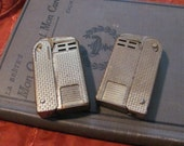 Pair Vintage REGENS Art Deco Squeeze Lighters
