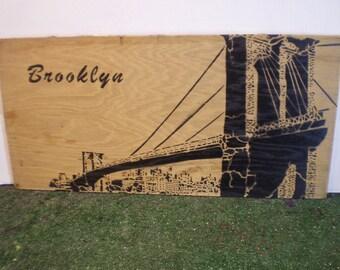 Brooklyn Bridge (wood)