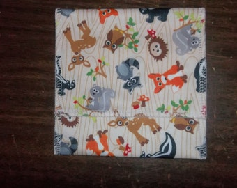 Nursing pad pouch Made with PUL in a cute ANIMAL design