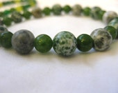 Green Mixed Stone Bracelets