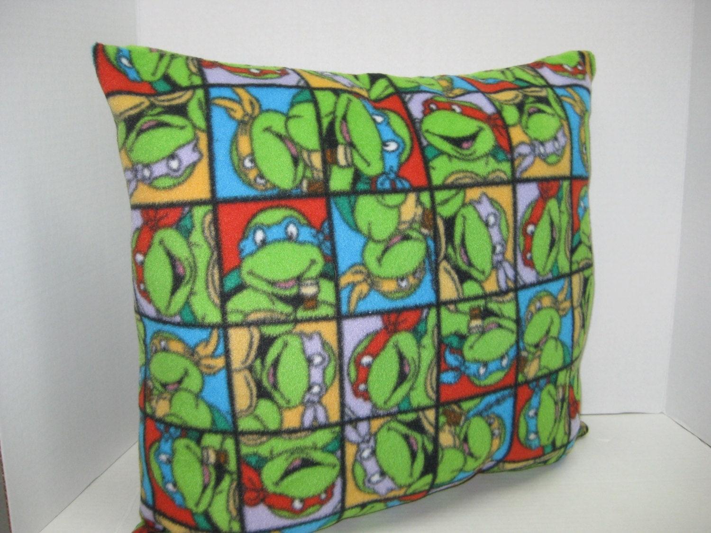 Ninja Turtle Stuffed Throw Pillow by DSHANDMADECRAFTS on Etsy