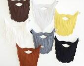 Beard- Felt Beard- Pretend Play- Dress Up