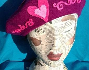 Valentines Berret:  'Vivre l'amour' or 'A prayer for Paris'