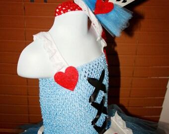 Alice in Wonderland coordinating hat